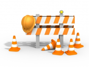 Signalisation d'un chantier